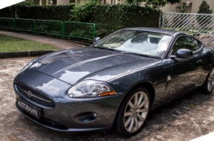 Jaguar XK Grey-23